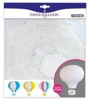 Ilmapallo paperista koristeluun Playbox