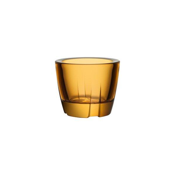 Kosta Boda Bruk Kynttilälyhty 6 cm Oranssi