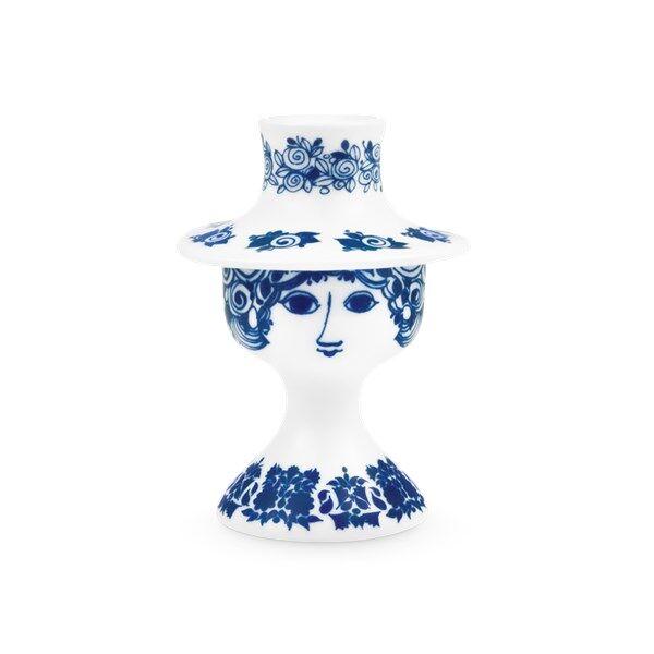 Bjørn Wiinblad Rosalinde Kynttilänjalka 12 cm Sininen
