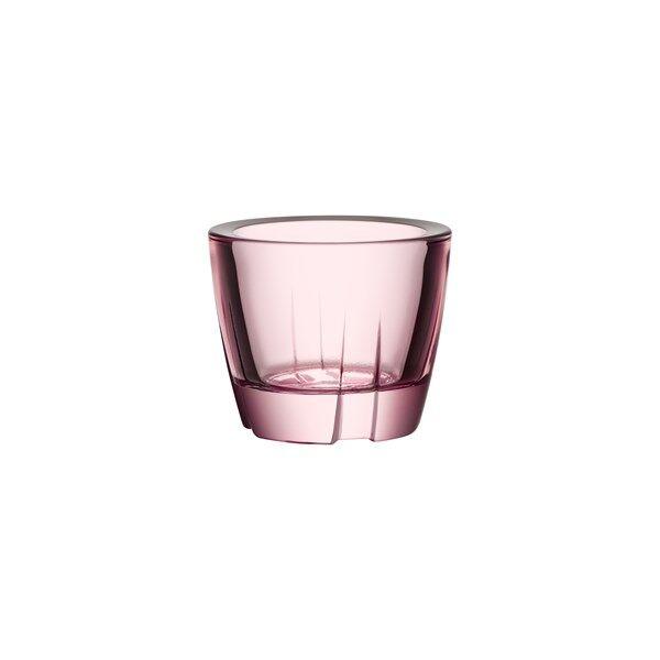 Kosta Boda Bruk Kynttilälyhty 6 cm Vaalea roosa