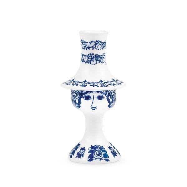 Bjørn Wiinblad Rosalinde Kynttilänjalka 16.5 cm Sininen