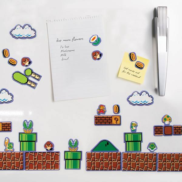 Super Mario Bros JÄÄKaappimagneetit