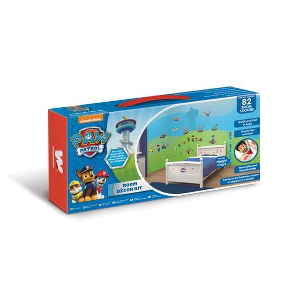Decor kit, Paw Patrol, Walltastic