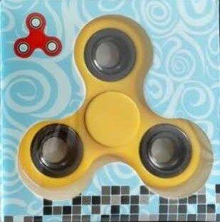 Fidget Spinner, Keltainen