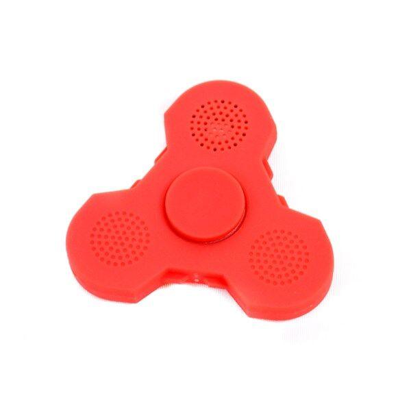 Fidget Spinner Light Up & Bluetooth Punainen