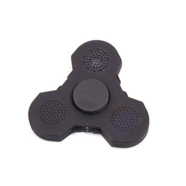 Fidget Spinner Light Up & Bluetooth Musta