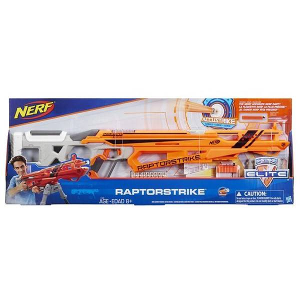 Nerf N-Strike Elite AccuStrike RaptorStrike Darts Gun Blaster