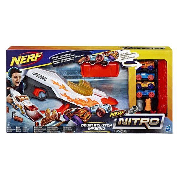 Nerf Nitro Doubleclutch Inferno, Nerf