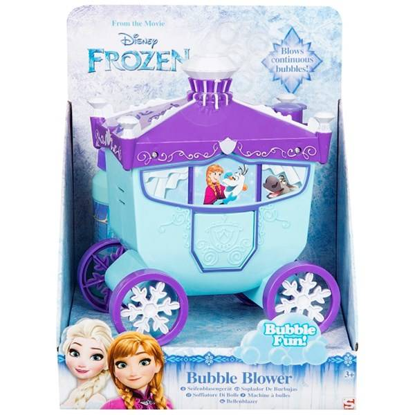 Disney Frozen Elsa Carriage Bubble Machine Saippuakuplakone
