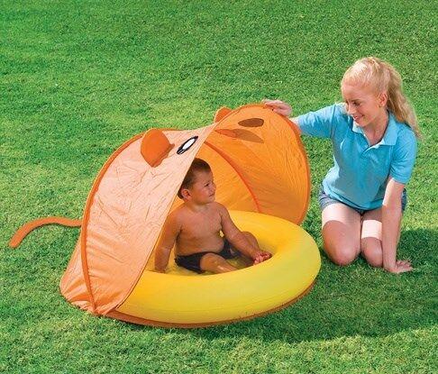 Lasten uima-allas, UV-suojattu, keltainen/oranssi, Bestway