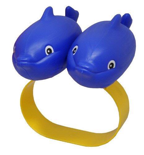 Uintikelluke delfiini, sininen, Plasto