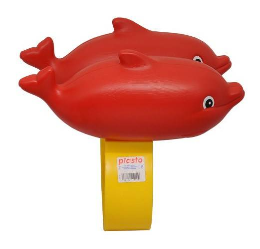 Uintikelluke delfiini, punainen, Plasto