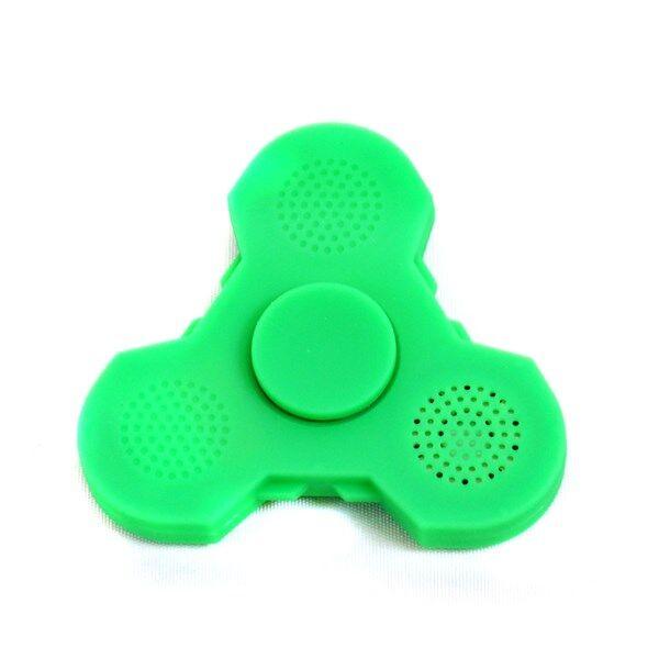 Fidget Spinner Light Up & Bluetooth Vihreä