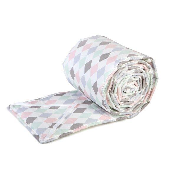 Spjälskydd för säng, Harlequin Rosa, NG baby