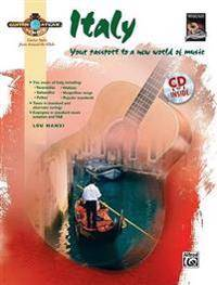 Guitar Atlas Italy: Your Passport to a New World of Music, Book & CD [With CD]