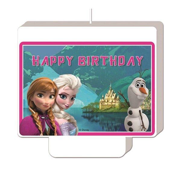 Disney Frozen Syntymäpäiväkynttilä