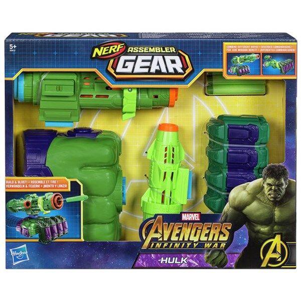 Infinity Avengers Infinity War Assembler Gear Hulk, Nerf