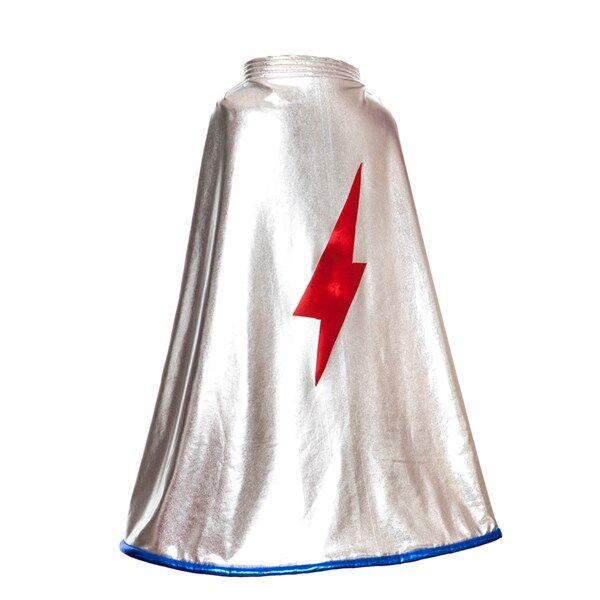 Super Hero Silver Cape