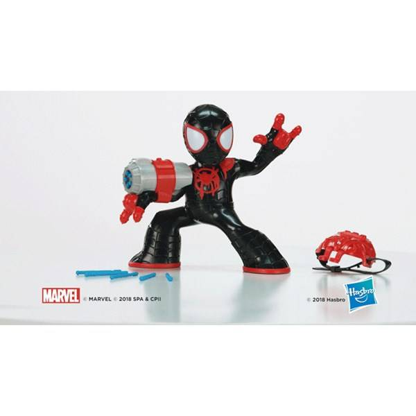 Electronic Feature Figure, Miles Morales, Spiderman