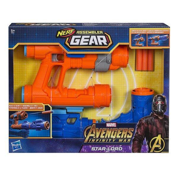 Infinity Avengers Infinity War Assembler Gear Starlord, Nerf