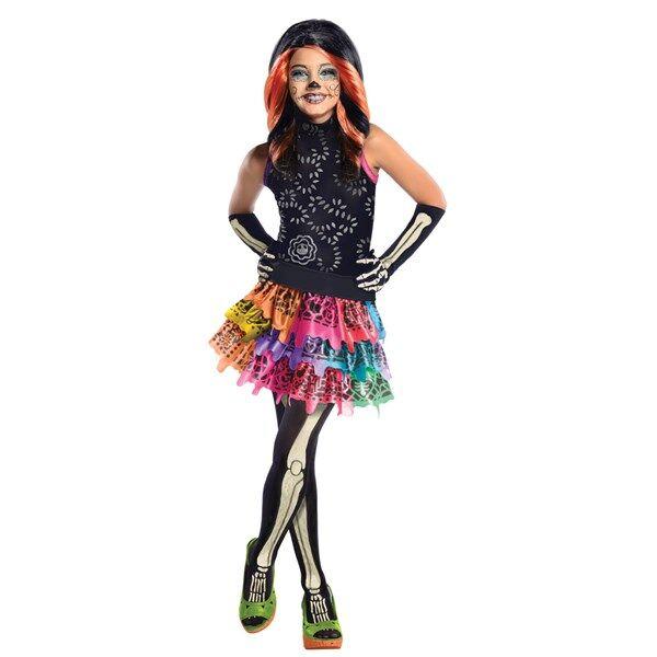 Maskeraddräkt, Skelita Calaveras, Monster High
