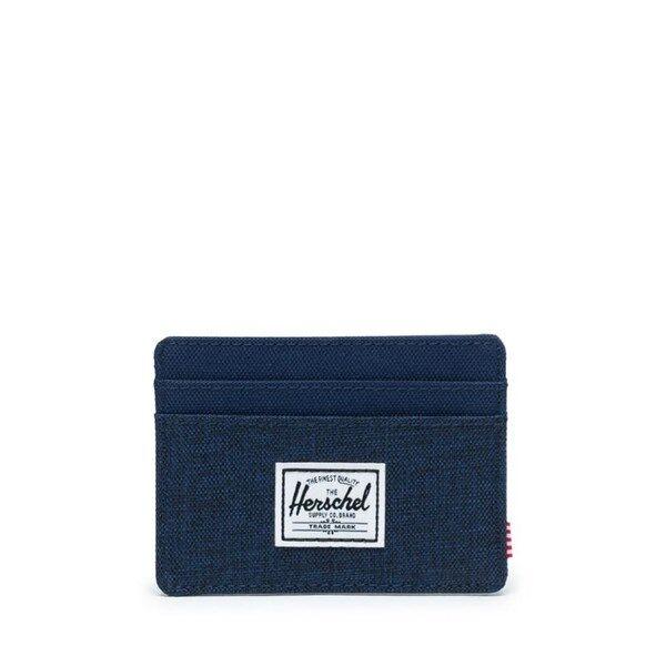 Herschel Plånbok Charlie Medieval Blue Crosshatch