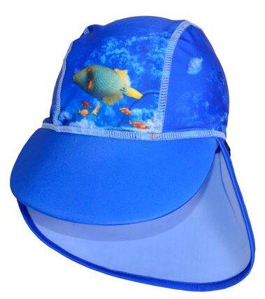 UV-hatt, Korallrev/Blå, storlek 74-80, Swimpy