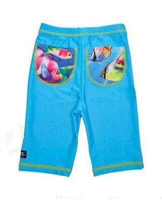 UV-shorts Fisk Turkos, Swimpy