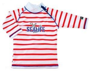 UV-tröja Sealife,röd, Swimpy