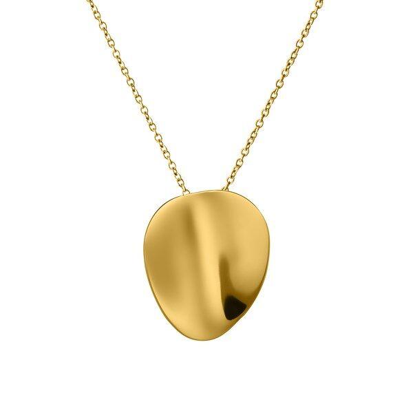Edblad Pebble Halsband Short Gold