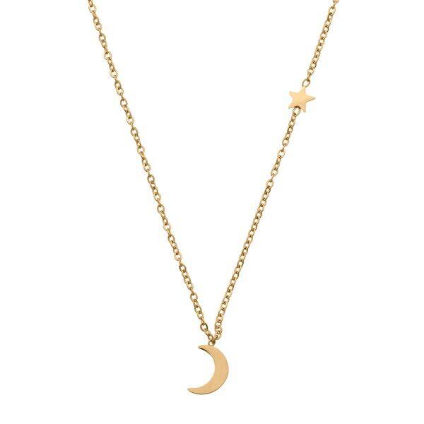 Edblad Bright Night Halsband Gold