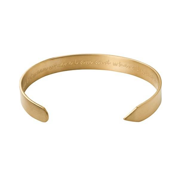Edblad Thought Armband Matt Gold