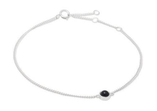 Louise Kragh Armband Fall Silver Granite
