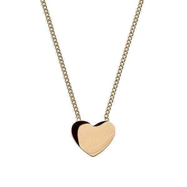 Pure Edblad Pure Heart Halsband Gold