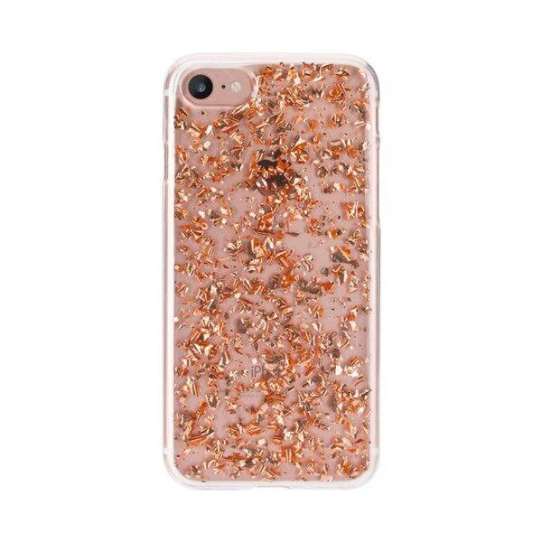 Apple FLAVR Suojakuori Flakes iPhone X Rosé