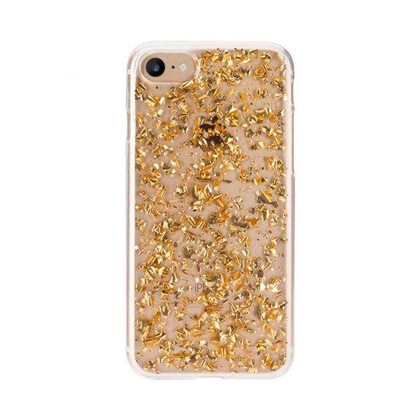 Apple FLAVR Suojakuori Flakes iPhone X Gold