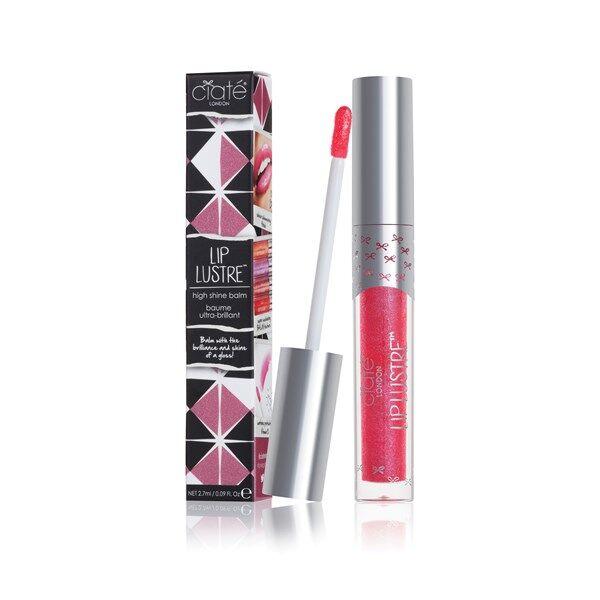 Ciaté Lip Lustre Conditioning Lip Gloss - Dare (Deep Pink)