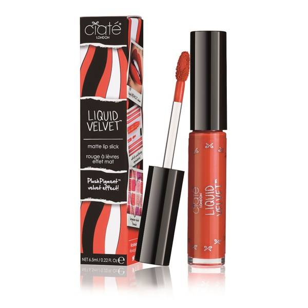 Ciaté Liquid Velvet Matte Läppstift - Risqué (Tomato Red) 6.5ml
