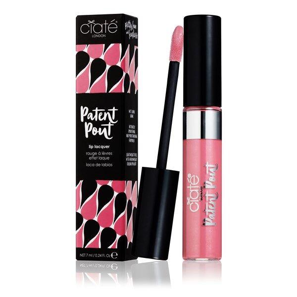 Ciaté Läppglans Patent Pout Lip Lacquer - Air Kiss (Light Pink)