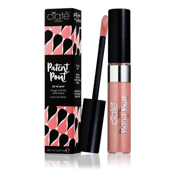 Ciaté Läppglans Patent Pout Lip Lacquer - Canoodle (Nude)