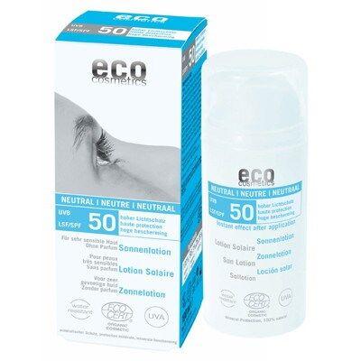 Eco Cosmetics Sollotion Neutral SPF50 100ml EKO