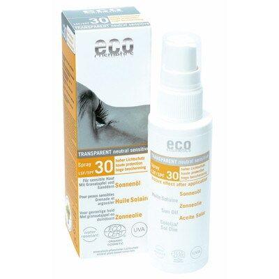 Eco Cosmetics Sololja Spray Transparant spf30 50ml