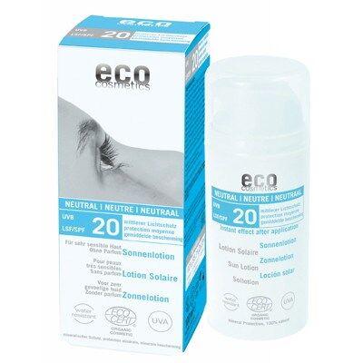 Eco Cosmetics Sollotion Neutral SPF20 100ml EKO