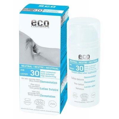 Eco Cosmetics Sollotion Neutral SPF30 100ml EKO