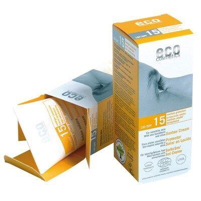 Eco Cosmetics Aurinkovoide SPF15 75ml EKO