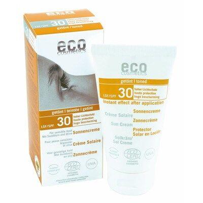 Eco Cosmetics Aurinkovoide Sävytetty SPF30 75ml
