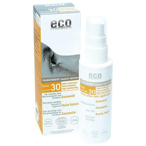Eco Cosmetics Solgel Ansikte Spf30 30ml