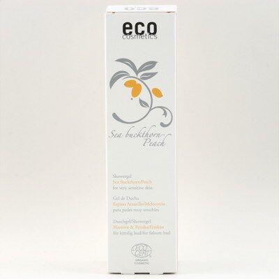 Eco Cosmetics Duschgel Sensitive Havtorn Persika 200ml