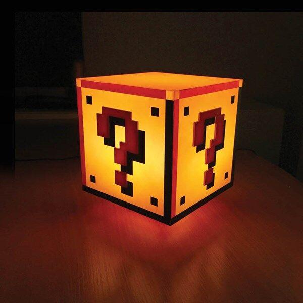 Super Mario Question Block Lamppu