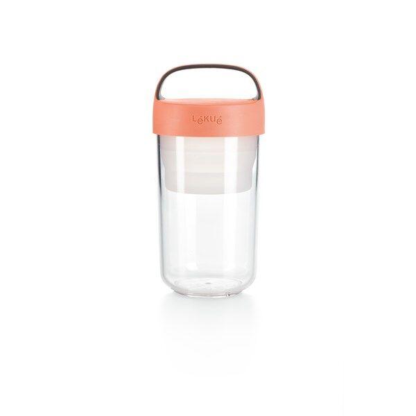 Lékué Jar To Go 600 ml Korall